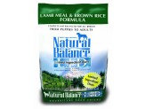Natural Balance LID Lamb Meal & Brown Rice Dry Dog Food 4.5lb