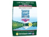 Natural Balance LID Lamb Meal & Brown Rice Small Breed Bites Dry Dog Food 12lb