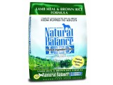 Natural Balance LID Lamb Meal & Brown Rice Dry Dog Food 14lb
