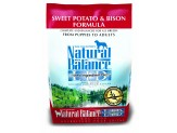 Natural Balance LID Sweet Potato & Bison Dry Dog Food 4.5lb