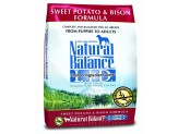 Natural Balance LID Sweet Potato & Bison Dry Dog Food 13lb