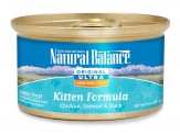Ultra WBH Chicken, Salmon & Duck Kitten Formula Canned Cat Food 3oz