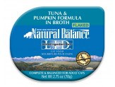 Natural Balance LID Tuna & Pumpkin Formula in Broth Cat Food 24ea/.75oz