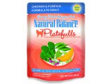 Natural Balance Platefulls Chicken & Pumpkin Formula in Gravy Cat Food 3oz  (Case of 24)