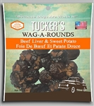 Tucker  Dog Wag-a-Rounds  Treat Liver  Sweet Potato 6OZ