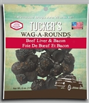 Tucker  Dog Wag-a-Rounds  Treat Liver  Bacon 6OZ