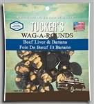 Tucker  Dog Wag-a-Rounds  Treat Liver/Banana 6OZ