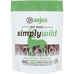 Sojos Dog Simply Wild Venison Treat 2.5 oz.