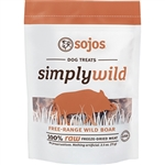 Sojos Dog Simply Wild Boar Treat 2.5 oz.