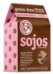 Sojos Good Dog Treats Duck And Cherry 10oz