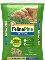 Feline Pine Original Cat Litter 40 lb. Bag