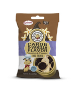 Exclusively Pet Sandwich Cremes Carob and Vanilla Flavor Dog Treats 8oz