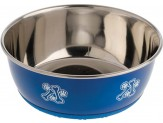 OurPet's DuraPet Fashion Bowl Blue-Large-Assorted Pattern
