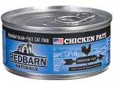 Redbarn Naturals Chicken Pate Indoor Cat Canned Food 24ea/5.5oz