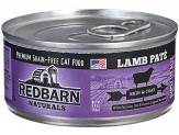 Redbarn Naturals Lamb Pate Skin & Coat Cat Canned Food 24ea/5.5oz