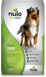 Nulo Senior Dog Grain Free Trout 24lb