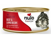 Nulo FreeStyle Grain Free Beef & Lamb Recipe Can Cat Food 24ea/5.5oz