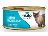Nulo FreeStyle Grain Free Salmon & Mackerel Recipe Can Cat Food 24ea/5.5oz