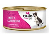 Nulo FreeStyle Grain Free Trout & Salmon Recipe Can Cat Food 24ea/5.5oz