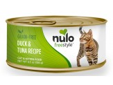 Nulo FreeStyle Grain Free Duck & Tuna Recipe Can Cat Food 24ea/5.5oz