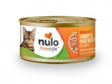 Nulo FreeStyle Minced Turkey & Duck Recipe Canned Cat Food 24ea/3oz