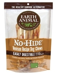 "Earth Animal No Hide Venison Chews Dog Treats, 7"", 2 Pack"