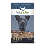 Barkworthies Lamb Lung Chips (Net Wt. 12 oz. )