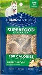 Barkworthies Jerky  Rabbit Apple  3oz