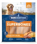 Barkworthies Mini SuperBone Grain Free Bacon Cheese Sweet Potato (12-Pack )