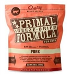 Primal Pet Foods Freeze Dried Cat Food Pork 5.5oz.
