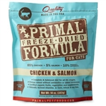 Primal Pet Foods Freeze Dried Cat Food-  5.5 oz.- Chicken  & Salmon
