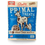 Primal Turkey Liver Munchies Freeze-Dried Dog & Cat Treats, 2-oz. bag