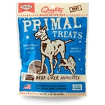 Primal Beef Liver Munchies Freeze-Dried Dog & Cat Treats, 2-oz. bag