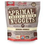 Primal Pet Foods Freeze Dried Cat Food- Venison 5.5oz.