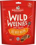 Stella & Chewys Dog Freeze Dried WEENIE Beef 3.25 oz.