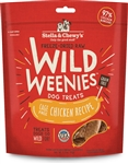 Stella & Chewys Dog Freeze Dried WEENIE Chicken 3.25 oz.