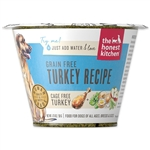 Honest Kitchen  Dog Grain Free Turkey 1.75 oz.  Cup (Case of 12)