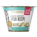 Honest Kitchen  Dog LID Grain Free Fish 1.75 oz.  Cup (Case of 12)