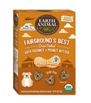 Earth Animals Fairgrounds Best Cookies- 10oz-Coconut & Peanut Butter