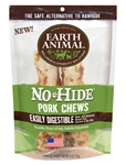 "Earth Animal No Hide Pork Chews Dog Treats, 7"", 2 Pack"