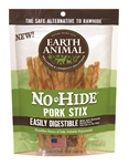 Earth Animal No Hide Pork Chews Dog Treats, 10 Pack