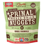 Primal Cat Freeze Dried Nugget Quail 14 oz.