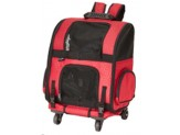 Gen7Pets Roller-Carrier Red Geometric Large