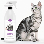 Skout's Honor All Natural Professional Strength Litter Box Deodorizer 32oz