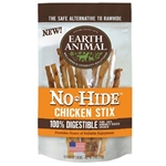 Earth Animal No Hide Chicken Stix Dog Treats, 10 Pack