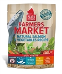Plato Farmers Market Real Strips Salmon /Veg  14.1 oz.