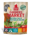 Plato Farmers Market Real Strips Duck/Veg 14.1 oz.