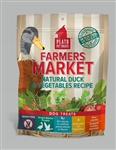 Plato Farmers Market Real Strips Duck/Veg  4 oz.