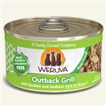 Weruva Cat Outback Grill  3 Oz.  Case of 24