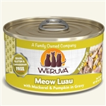 Weruva Cat Meow Luau 3 Oz.  Case of 24